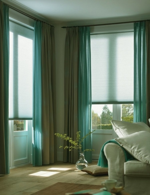 turquoise-and-gray-curtains-modern-living-room-decorating-ideas